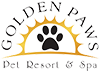 Golden Paws Pet Resort Logo