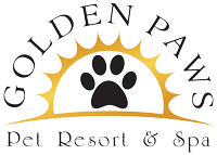 Golden Paws Pet Resort Retina Logo