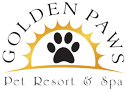 Golden Paws Pet Resort Mobile Retina Logo