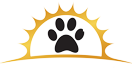 Golden Paws Pet Resort Sticky Logo Retina